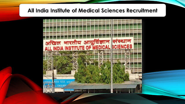 AIIMS Bhopal Recruitment 2021 Technician, DEO Posts – Apply online