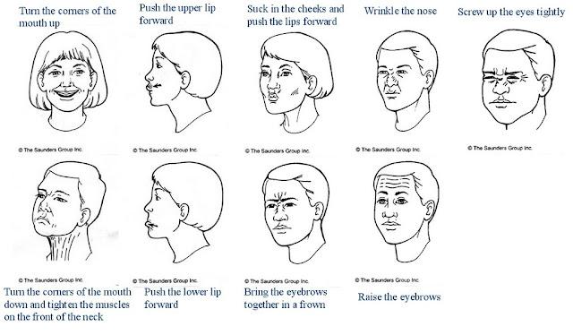 senam wajah untuk penderita bell's palsy