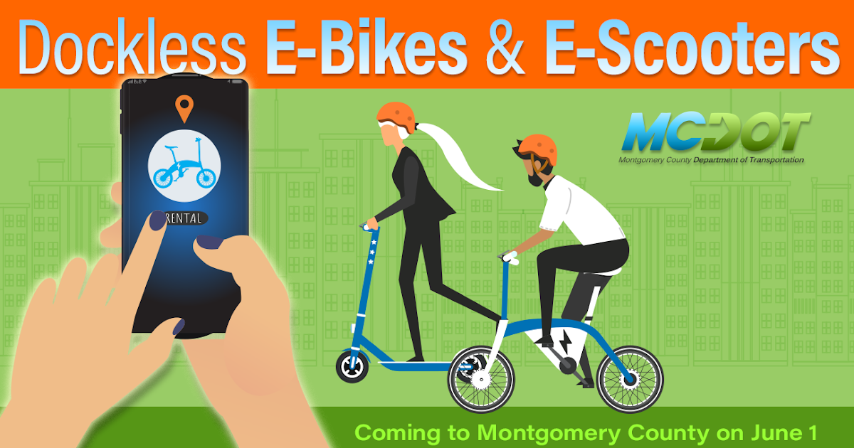 Paperless Airplane: Dockless e-Scooters Join County's Expanding