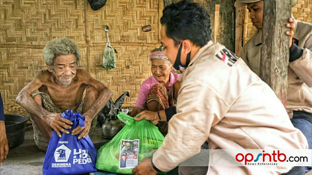 """Kompak, LPB dan HBK Peduli """"Perangi"""" Covid-19 di Lombok Tengah"""