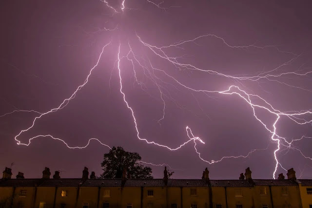 Static electricity weather thunderstorm electricity