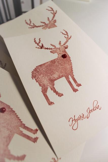 reindeet stamp