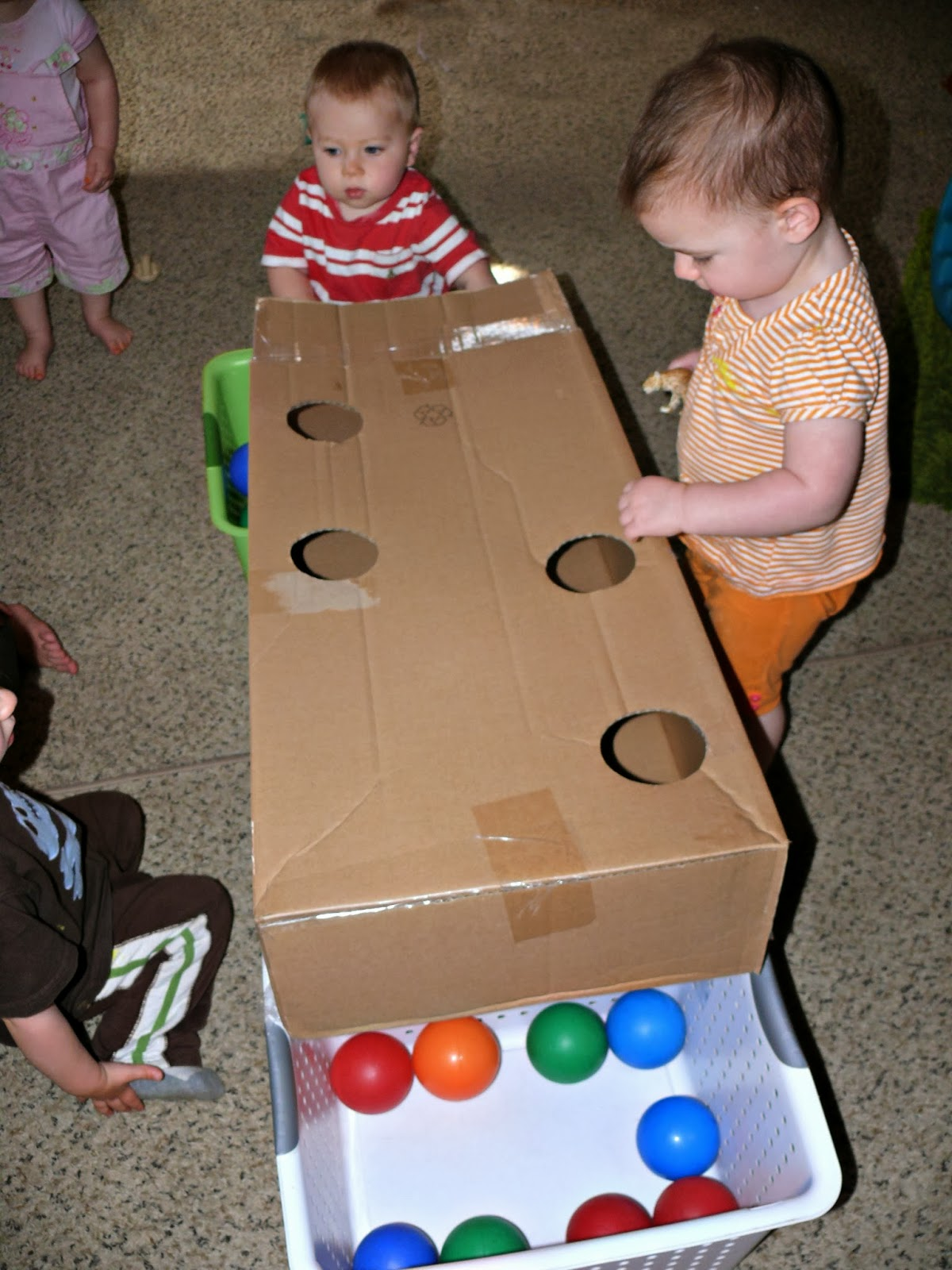 Infant Amp Toddler Fun Balls Bells A Basket And A Box