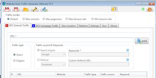 Situs Web Auto Traffic Generator Ultimate Crack v7.4 + Key 2021 Unduhan Lengkap