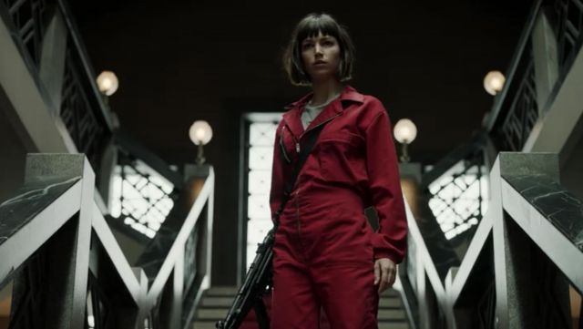 Ursula Corbero money heist