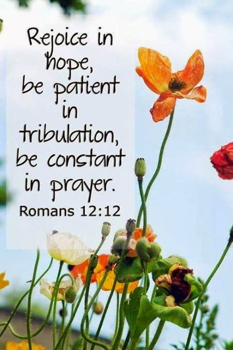 Be Patient in Tribulation
