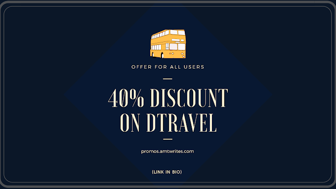 40% Off on DTravels, Book Now!