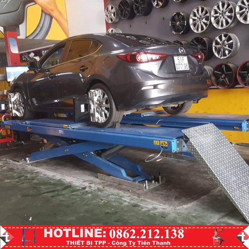 cầu nâng cắt kéo 2 tầng của ý, cầu nâng cắt kéo HPA, giá cầu nâng cắt kéo, cầu nâng chữ x