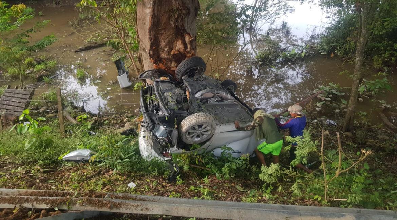 Informe oficial sobre accidente de Romualdo Brito