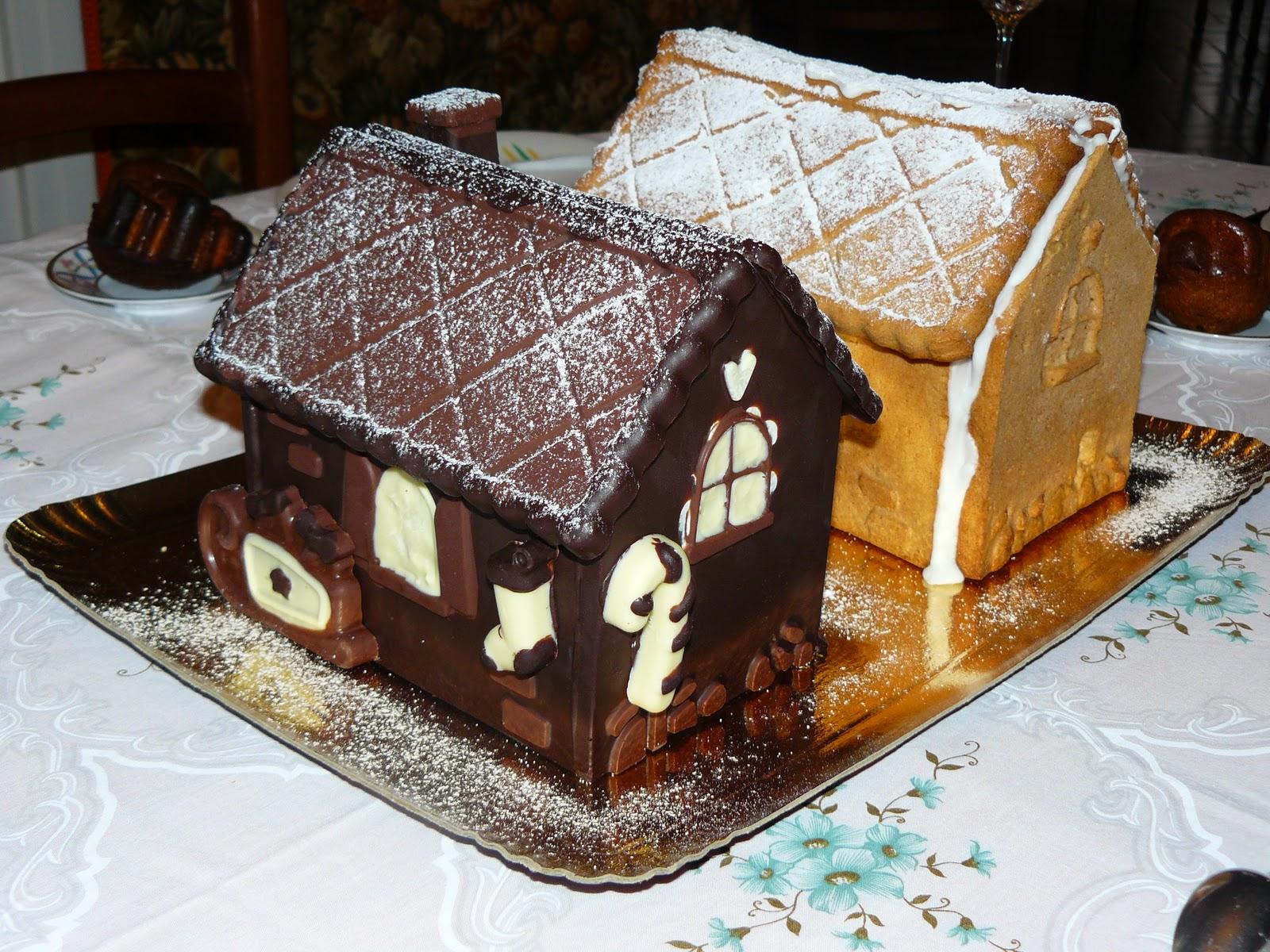 lundi p tisserie maisons en pain d 39 pices chocolat. Black Bedroom Furniture Sets. Home Design Ideas