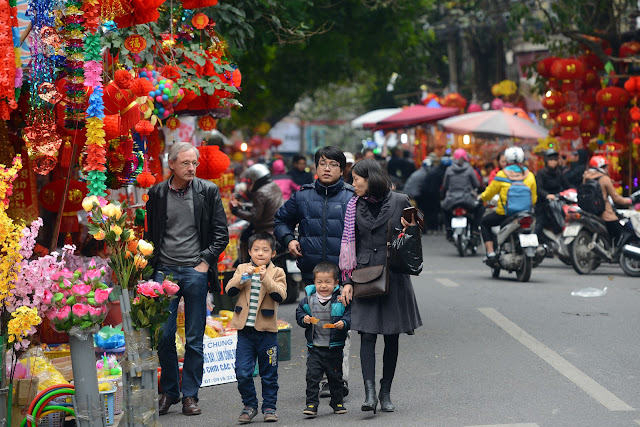 Soak up the New Year spirit in Hanoi's Old Quarter
