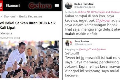 Ngeluh, Pendukung Jokowi Kecewa Iuran BPJS Dinaikkan