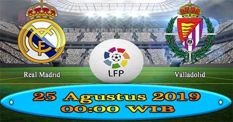 Prediksi Bola855 Real Madrid vs Valladolid 25 Agustus 2019