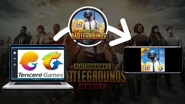 نسخ وتشغيل لعبة pubg من محاكي الاندرويد tencent gaming buddy إلى الهاتف