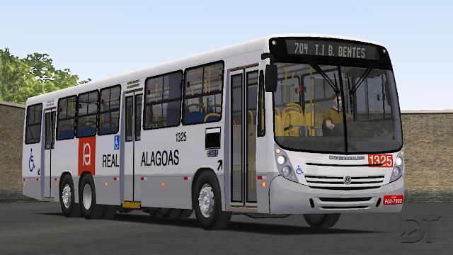 OMSI 2 - Pintura da Viação Real Alagoas para o Neobus Mega 2006 VW 17.230 OD 6x2