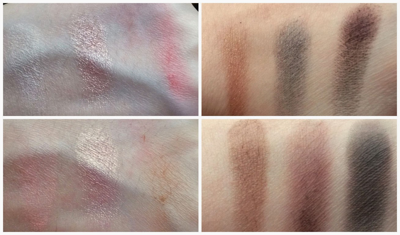 les palettes I-Divine Sleek oh so special swatches