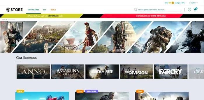 PC game download sites Ubisoft