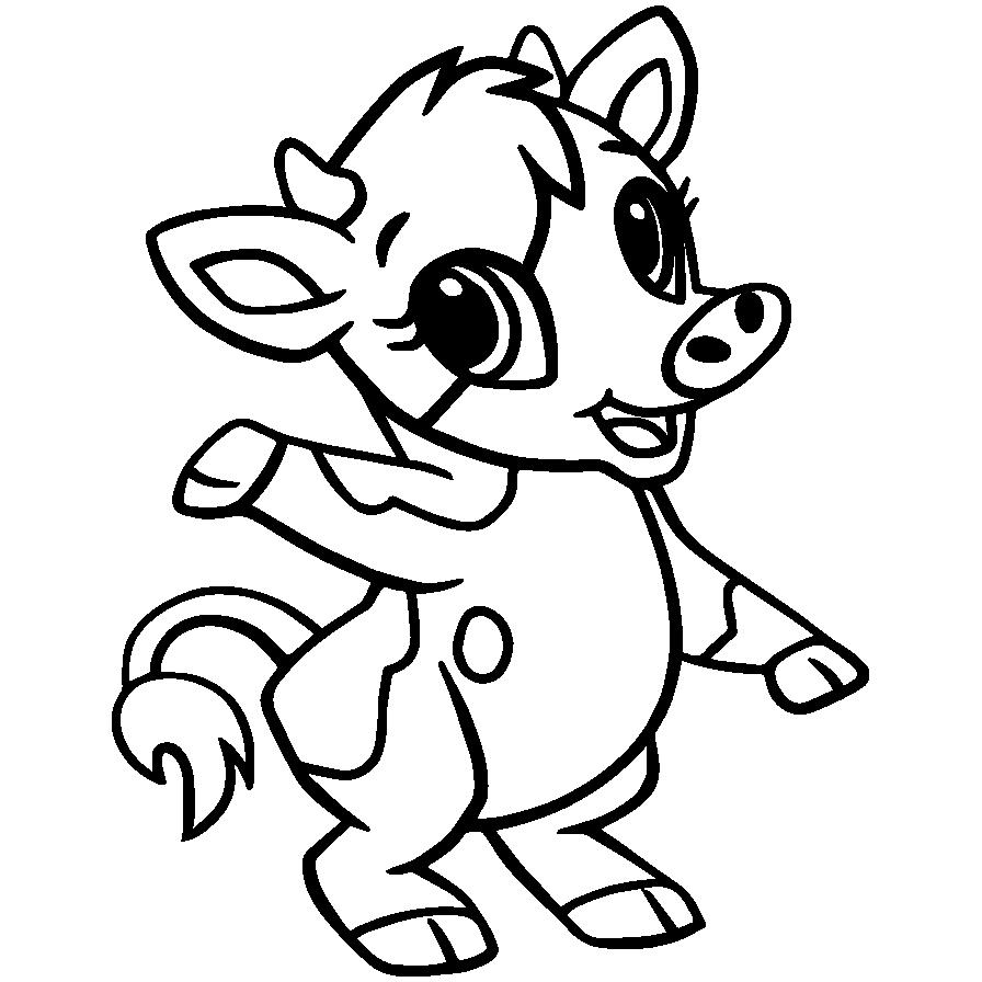 Mewarnai Gambar Hewan Babi Piggie Aneka Mewarnai Gambar