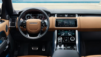 Land Rover Range Rover Sport tableau de bord