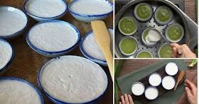 แจกฟรีเคล็บลับทำขนมถ้วยสูตรโบราณ ทำง่ายอร่อยจนหยุดไม่ได้