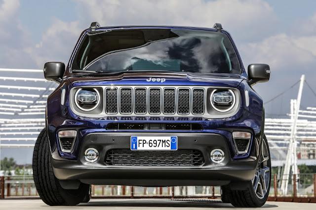 Новый гибрид Jeep Renegade появится в 2020 году