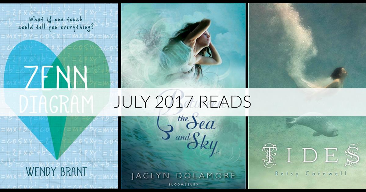 My Favorite Things: July Reads // Math & Mermaids