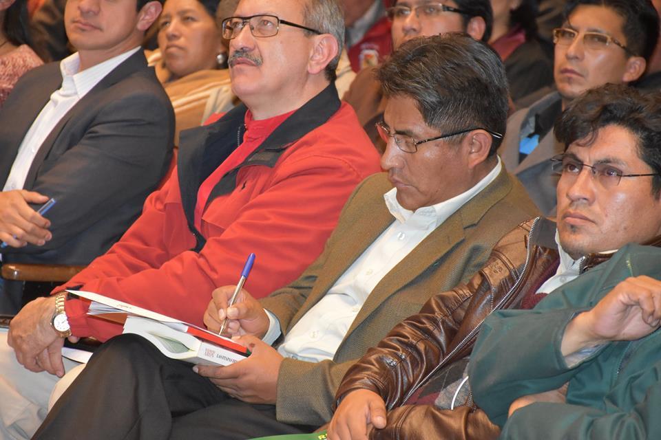 Patzi plantea Coparticipación Tributaria del 10% para cada gobernación o trasferencia de dominios tributarios