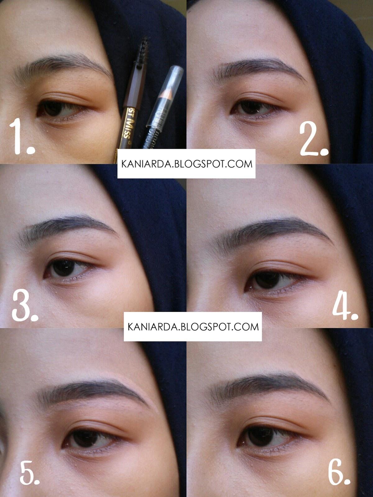 Jual Pensil Alis Viva Termurah 2018 Original Tutorial Makeup Lebaran Simple Friday Girl Step By Gambar Ala Arda 1 Siapin
