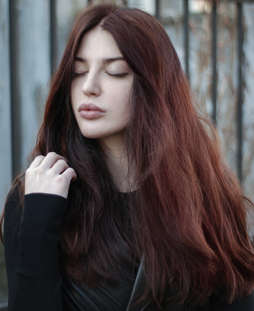 Chestnut Brown Hair Color for Fall
