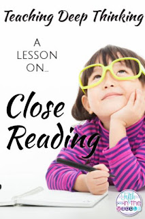 Teaching Deep Thinking: A Lesson on Close Reading