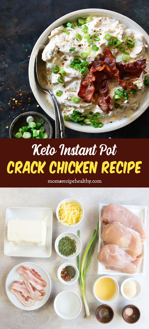 Keto Instant Pot Crack Chicken Recipe