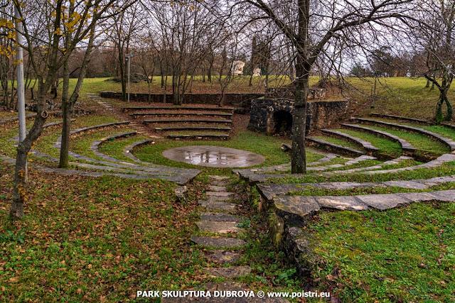 Park skulptura MKS Dubrova kod Labina