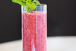 Healthy Recipes   Triple Berry Smoothie Snack Jar