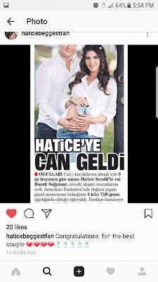 Hatice Șendil a devenit mămică de băiat.
