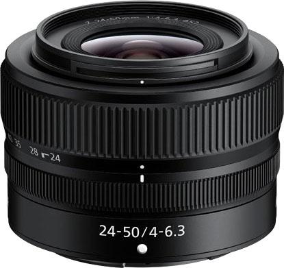 Nikkor Z 24-50mm f / 4-6.3 - 400 $ kompakt zum