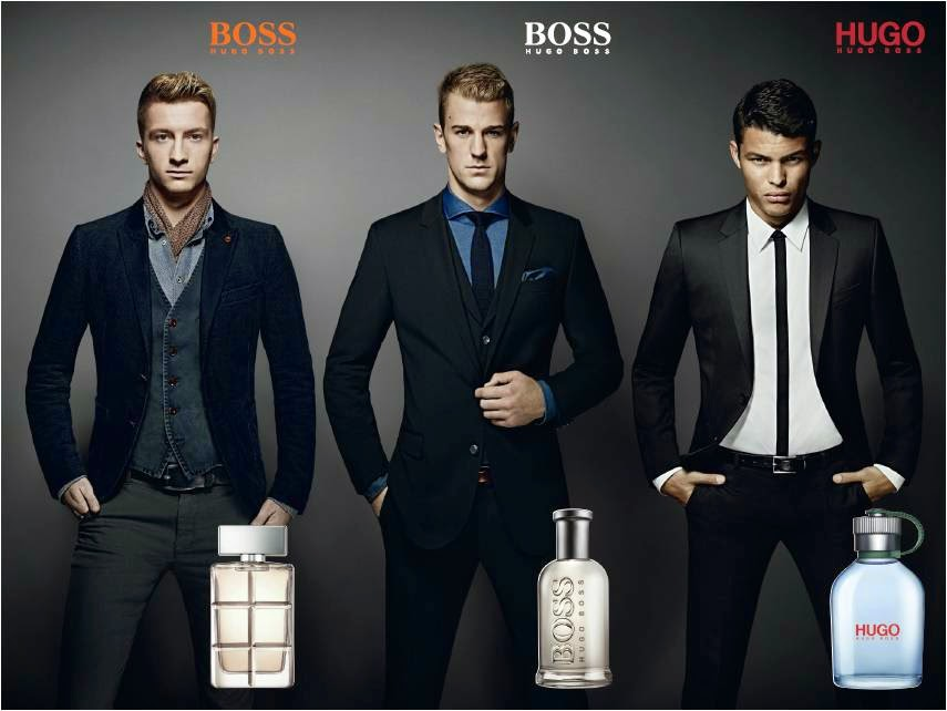 HUGO BOSS Parfums Success Beyond The Game, HUGO BOSS Parfums, hugo boss, Success Beyond The Game, joe hart, BOSS BOTTLED, Thiago Silva, HUGO MAN, Marco Reus, BOSS ORANGE MAN, hugo boss fragrance price list