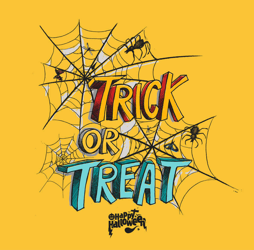 trick treat halloween poster, Halloween Images, Halloween Pictures and Wallpapers.