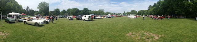British Car Show Panoramic