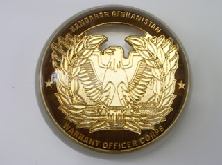 Armed forces medal encased within a paperweight