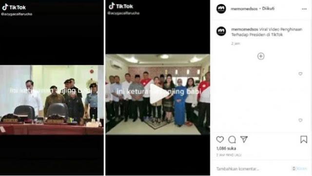 Viral Video Jokowi dan Puan Maharani Disebut Keturunan B*natang