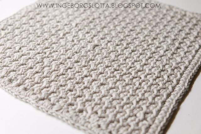 Virkad disktrasa - Crocheted dishcloth - Handmade in Finland, virkattu tiskirätti