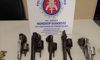 Cinco homens morrem após troca de tiros com a Rondesp em Vitória da Conquista