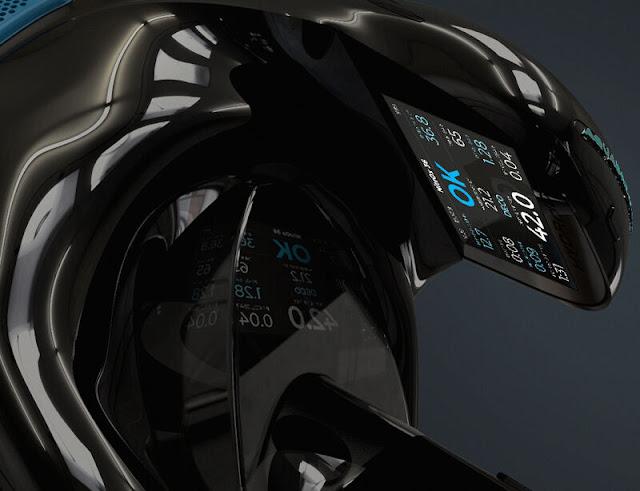The Hydroid Aquabreather scuba diving helmet