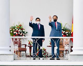 Bertemu PM Vietnam, Presiden Jokowi Bahas Isu Kesehatan Hingga Stabilitas Kawasan