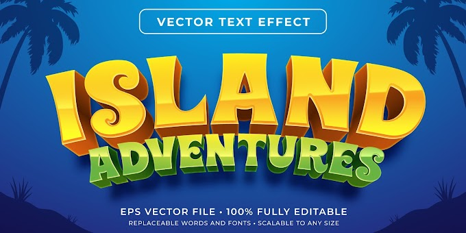 Island Adventure Text Effect Ai