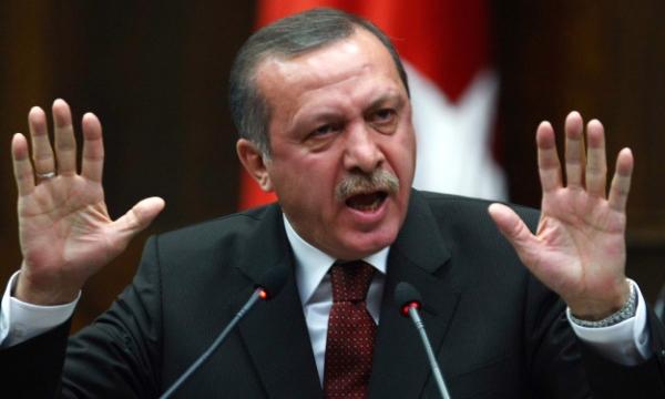 أردوغان يهدد بالتدخل في سوريا لاستئصال شأفت الوحدات الكردية