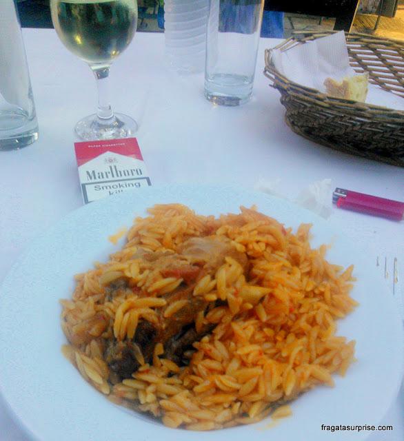 Giouvetsi, prato típico da Grécia
