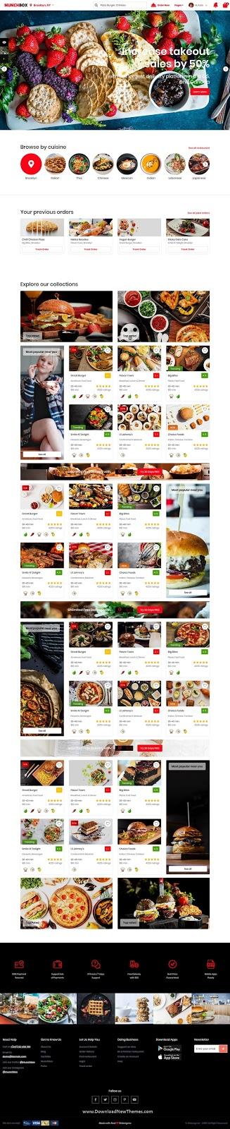 Best Restaurant Listing HTML Template