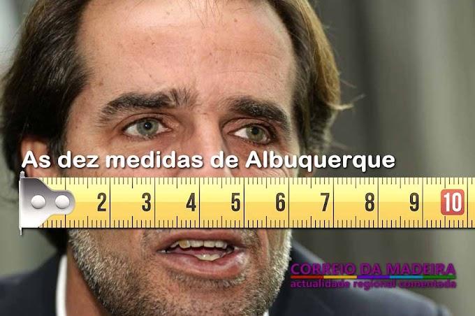 As 10 medidas de Albuquerque