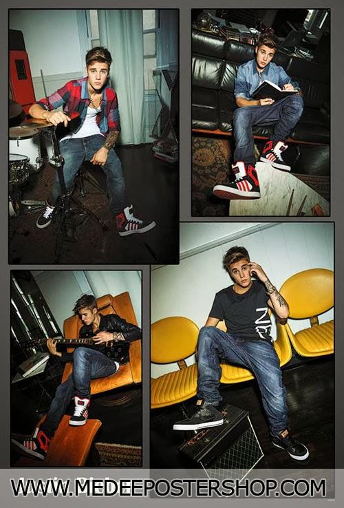 Justin Bieber 2014 Poster